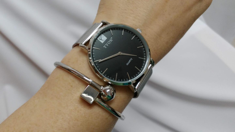 9feba7501c ... čierna Ďalší obrázok produktu Hodinky dámske
